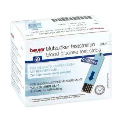 Beurer Gl40 Blutzuckerteststreifen  bei apotheke.at bestellen