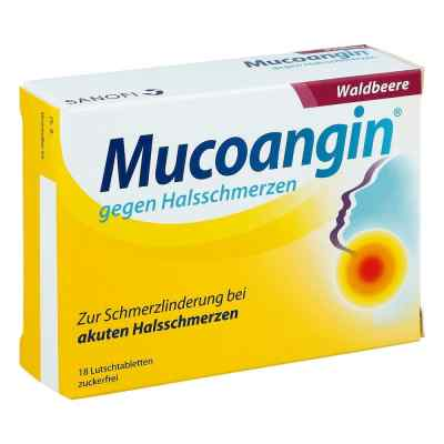 Mucoangin gegen Halsschmerzen Waldbeere  bei apotheke.at bestellen
