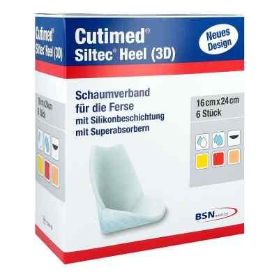 Cutimed Siltec Heel 3d 16x24 cm Kompressen  bei apotheke.at bestellen