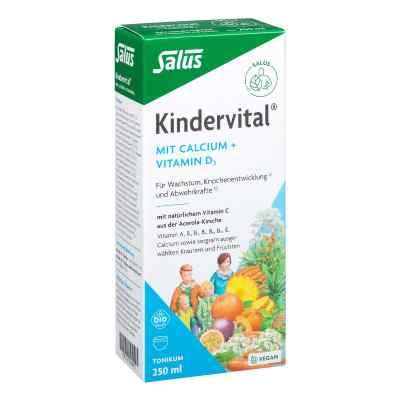 Kindervital Bio mit Calcium+d3 Tonikum Salus