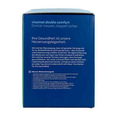 Visomat double comfort Oberarm Blutdruckmessger.