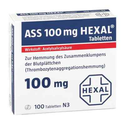 ASS 100mg HEXAL  bei apotheke.at bestellen
