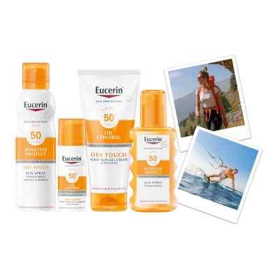Eucerin Sun Sensitive Protect Spray Transparent LSF 50  bei apotheke.at bestellen