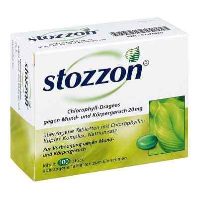 Stozzon Chlorophyll-Dragees gegen Mund- und Körpergeruch  bei apotheke.at bestellen