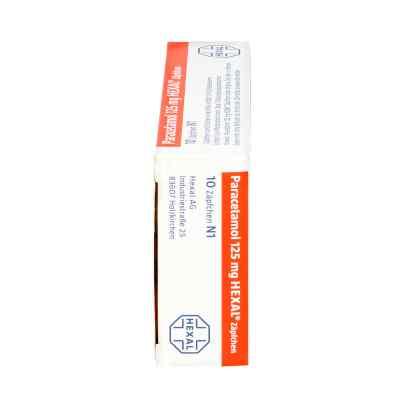 Paracetamol 125mg HEXAL
