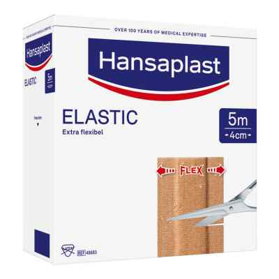 Hansaplast Elastic Pflaster 5mx4cm