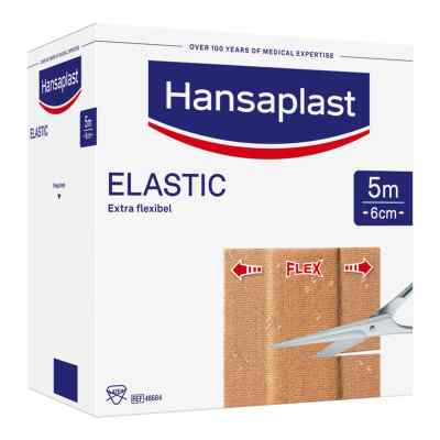 Hansaplast Elastic Pflaster 5mx6cm