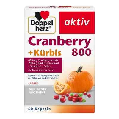 Doppelherz Cranberry + Kürbis Kapseln