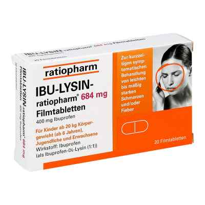 IBU-LYSIN-ratiopharm 684mg  bei apotheke.at bestellen