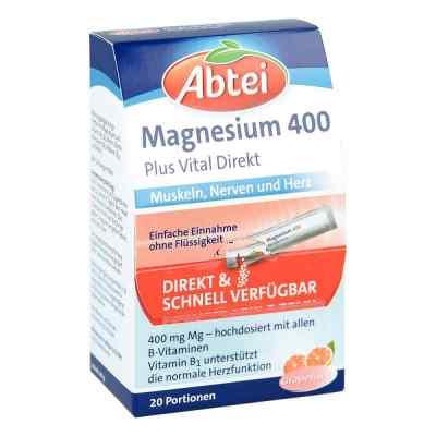 Abtei Magnesium 400+vitamin B Komplex Granulat  bei apotheke.at bestellen