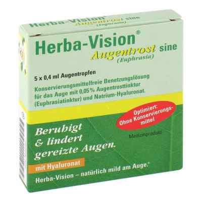 Herba-vision Augentrost sine Augentropfen  bei apotheke.at bestellen