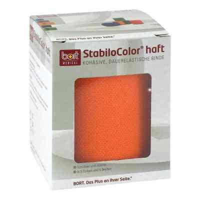 Bort Stabilocolor haft Binde 8cm orange