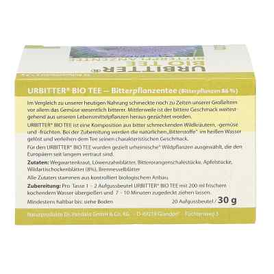 Urbitter Bio Tee  bei apotheke.at bestellen