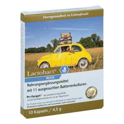 Lactobact Reise magensaftresistente Kapseln  bei apotheke.at bestellen