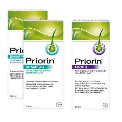 2x Priorin Shampoo  Priorin Liquid Pumplösung  bei apotheke.at bestellen