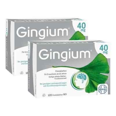 Gingium intens 40mg   bei apotheke.at bestellen