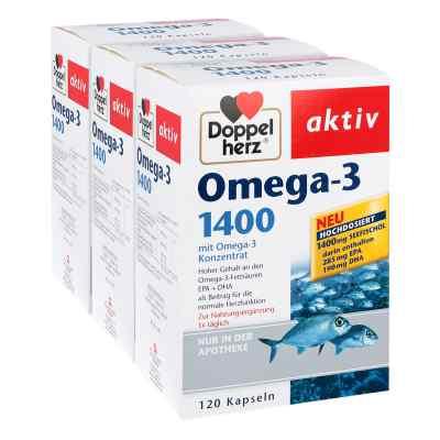 Doppelherz Omega-3 1.400 Kapseln  bei apotheke.at bestellen