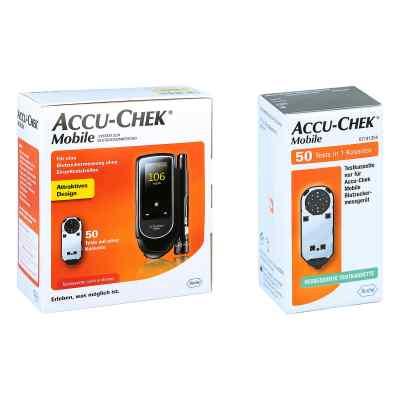 Accu Chek Mobile Set mg/dl Iii + Accu Chek Mobile Testkassette  bei apotheke.at bestellen