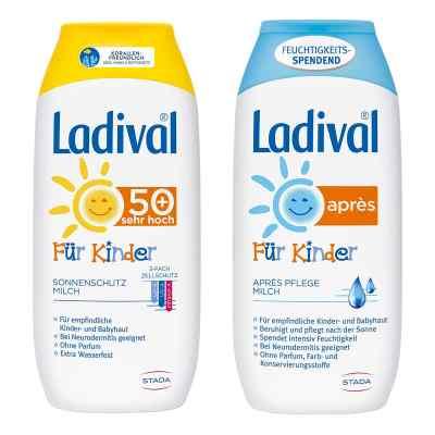 Ladival Kinder Sonnenmilch Lsf 50 und Apres Lotion  bei apotheke.at bestellen