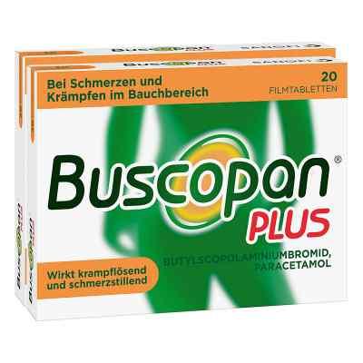 Buscopan PLUS Filmtabletten Doppelpack  bei apotheke.at bestellen