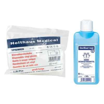 Sterillium med und Einmalhandschuhe  bei apotheke.at bestellen