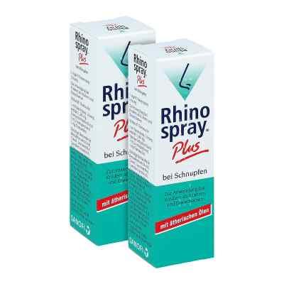 Rhinospray Plus bei Schnupfen Nasenspray Doppelpack  bei apotheke.at bestellen