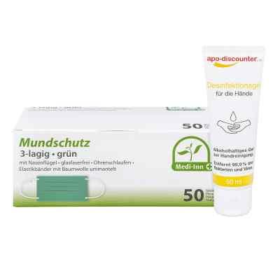 Mundschutz Maske und Hände-Desinfektionsgel  bei apotheke.at bestellen