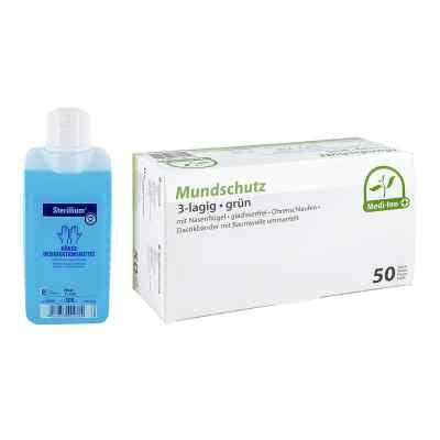 Mundschutz und Sterillium Händedesinfektion  bei apotheke.at bestellen