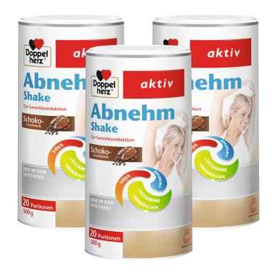 Doppelherz Abnehm Shake Schoko 3er Paket  bei apotheke.at bestellen