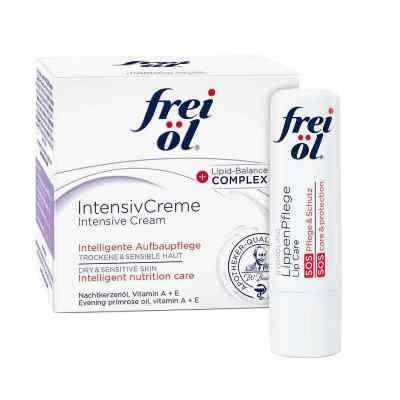 Frei Öl Intensivcreme (50 ml) + Frei Öl Lippenpflege gratis  bei apotheke.at bestellen