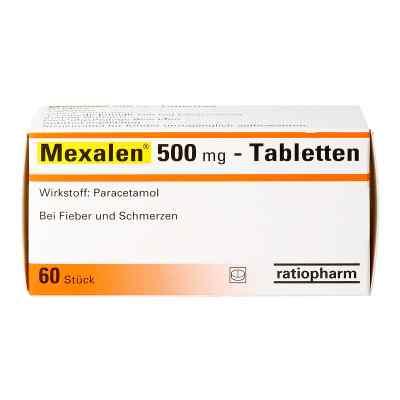 Mexalen 500 mg-Tabletten  bei apotheke.at bestellen