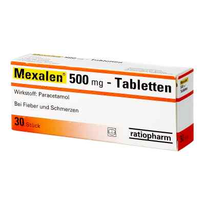 Mexalen 500 mg-Tabletten  bei apotheke.at bestellen