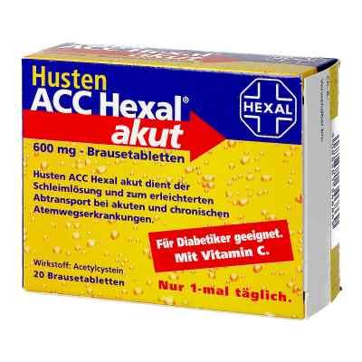 Husten ACC Hexal akut 600 mg  bei apotheke.at bestellen