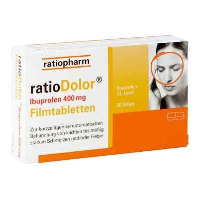 ratioDolor Ibuprofen 400 mg  bei apotheke.at bestellen