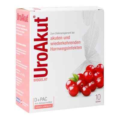 BIOGELAT UroAkut® D-Mannose plus Cranberry Granulat  bei apotheke.at bestellen