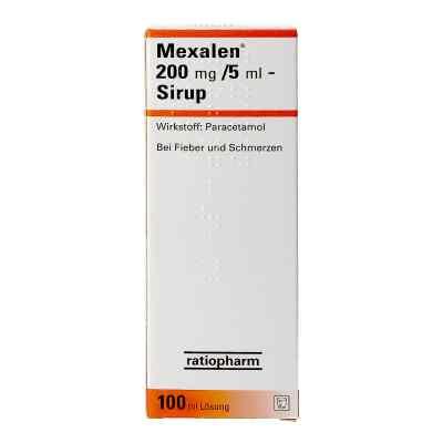 Mexalen Mexalen 200 mg/5 ml - Sirup  bei apotheke.at bestellen