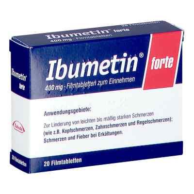 Ibumetin forte 400 mg  bei apotheke.at bestellen