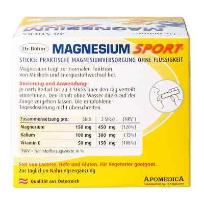 Dr. Böhm Magnesium Sport Sticks  bei apotheke.at bestellen