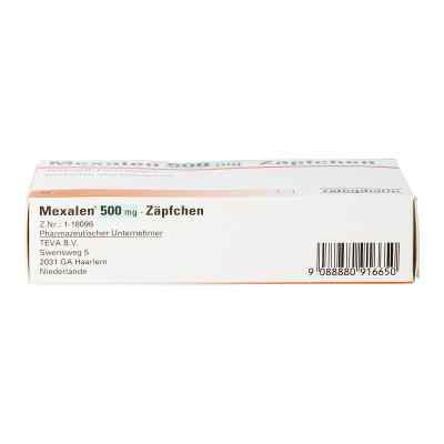 Mexalen 500 mg-Zäpfchen  bei apotheke.at bestellen