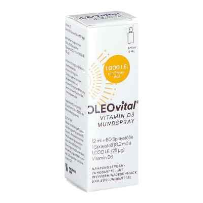 OLEOVital Vitamin D3 1000 internationale Einheiten Mundspray  bei apotheke.at bestellen