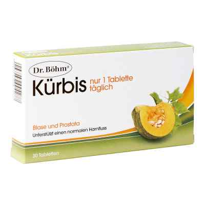 Dr. Böhm Kürbis nur 1 Tablette täglich  bei apotheke.at bestellen