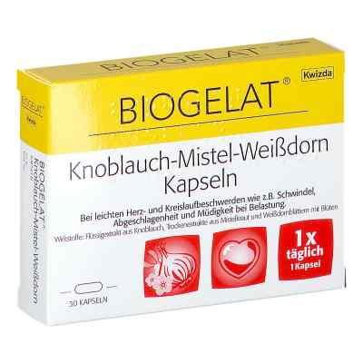 BIOGELAT Knoblauch-Mistel-Weißdorn Kapseln  bei apotheke.at bestellen