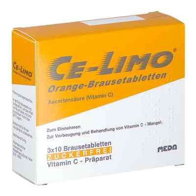 Ce-Limo Brausetabletten Orange  bei apotheke.at bestellen