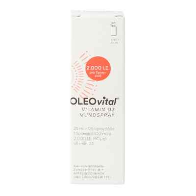 OLEOVital Vitamin D3 2.000 internationale Einheiten Mundspray  bei apotheke.at bestellen