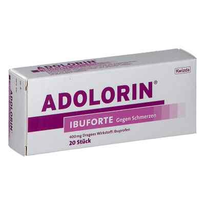 ADOLORIN Ibuforte 400 mg Dragees  bei apotheke.at bestellen