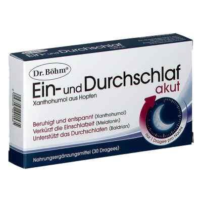Dr. Böhm Ein- und Durchschlaf akut Dragees  bei apotheke.at bestellen