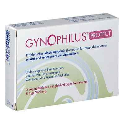 Gynophilus Protect Vaginaltabletten  bei apotheke.at bestellen