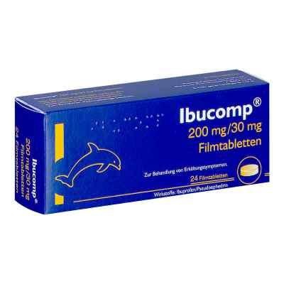 Ibucomp 200mg / 30mg Filmtabletten  bei apotheke.at bestellen