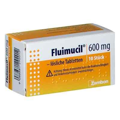 Fluimucil 600 mg lösliche Tabletten  bei apotheke.at bestellen