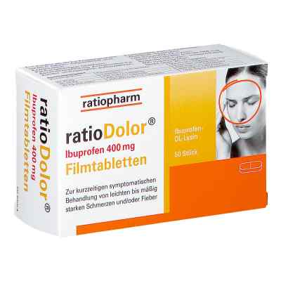 ratioDolor Ibuprofen 400mg Filmtabletten  bei apotheke.at bestellen